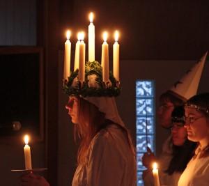 Årets Lucia - Rebecka Vennberg