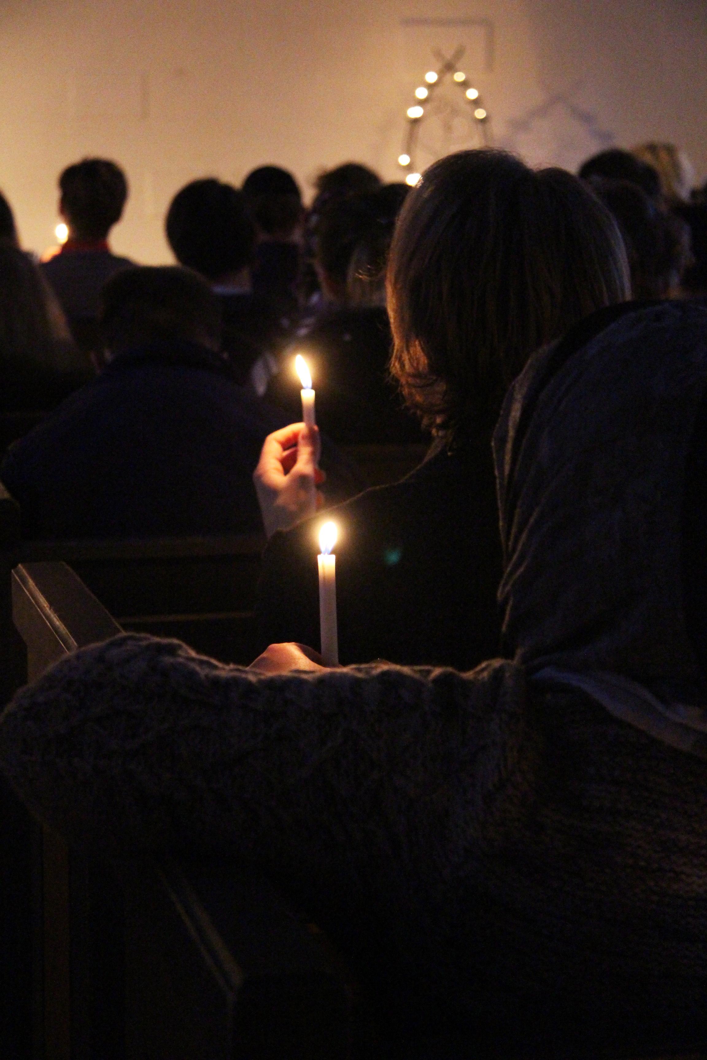 ljusmanifestation_för_mänskliga_rättigheter_Sjövik
